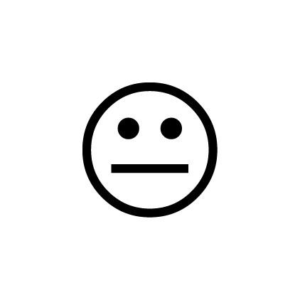 Tampon n°19: Smiley impassible
