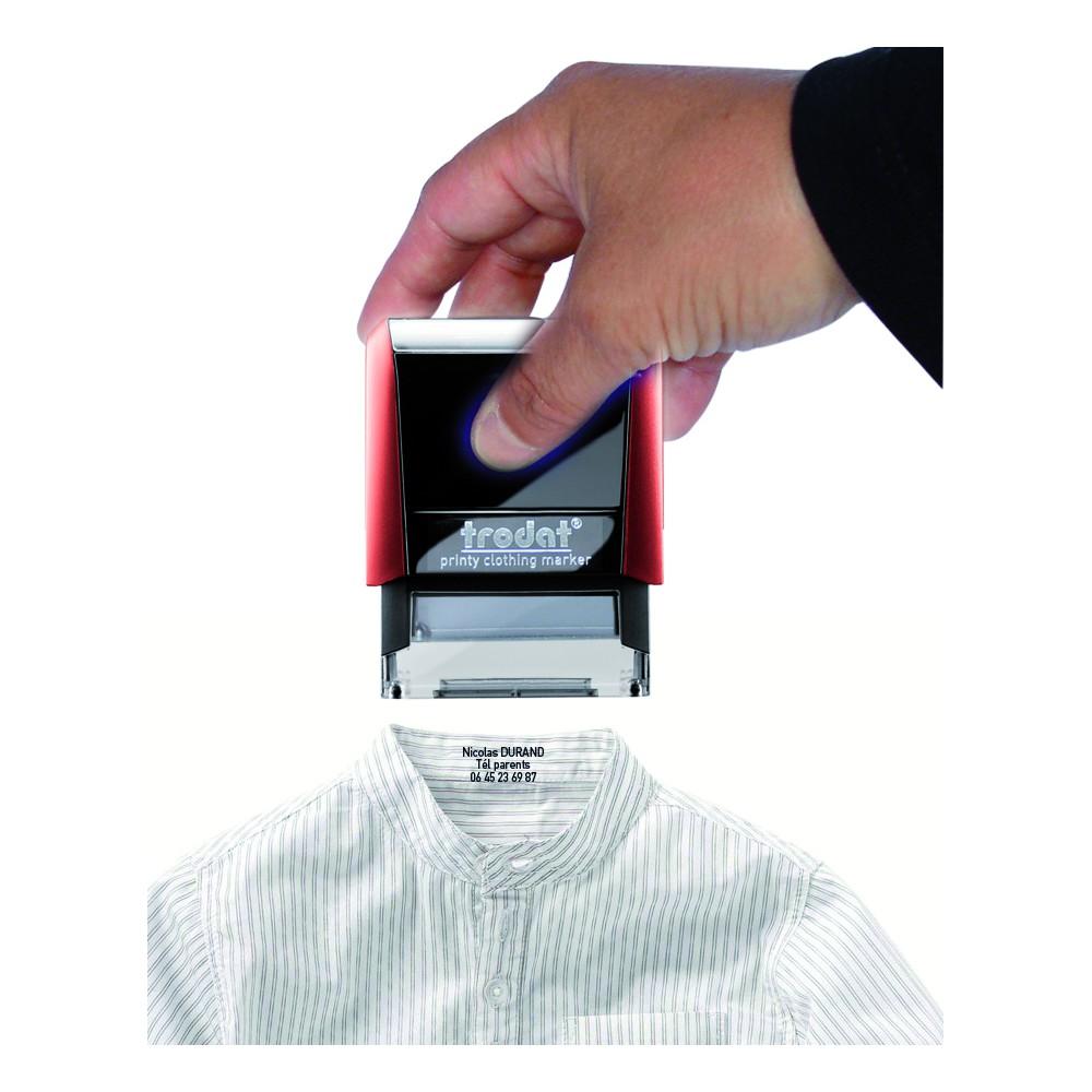 Tampon spécial textile