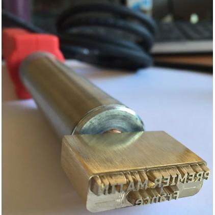 Marque à bruler électrique pour le bois ou le cuir avec votre texte
