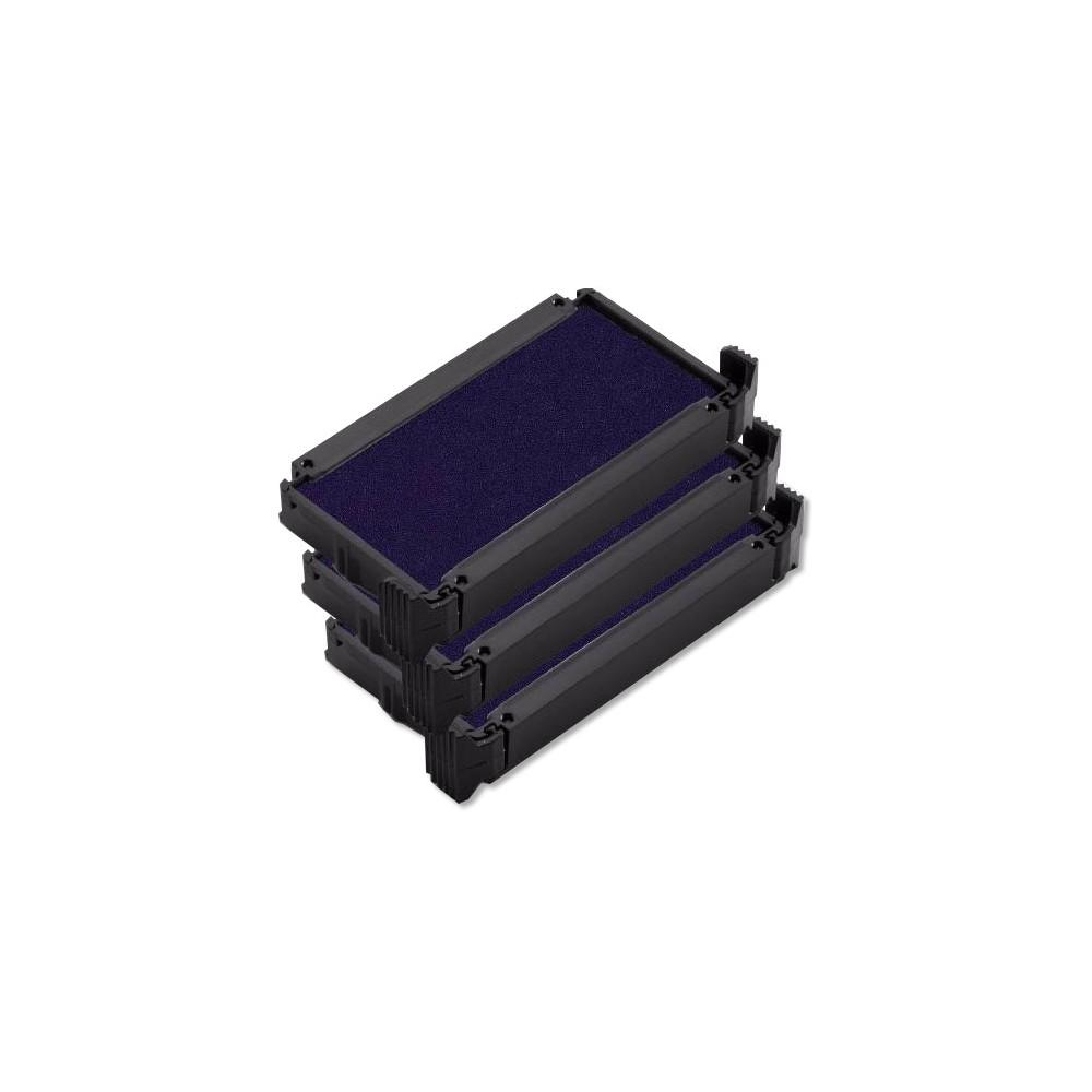 Pack de 3 recharges d'encre pour printy trodat 46045