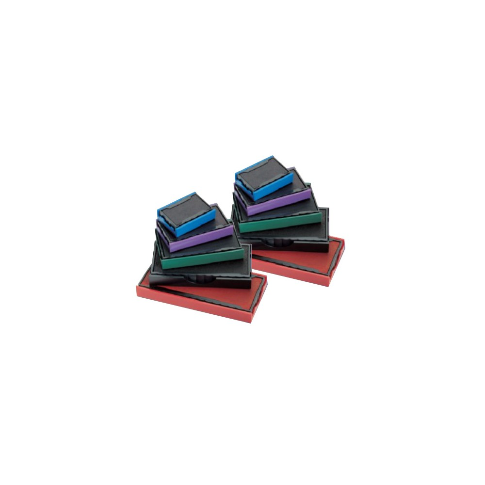 Pack de 10 recharges d'encre pour metal line Trodat 5206-5460