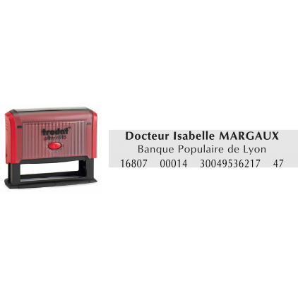 Tampon printy trodat 4916 spécial chèque