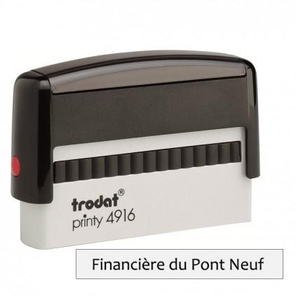 Tampon printy 4916 - spécial chèque - Port gratuit