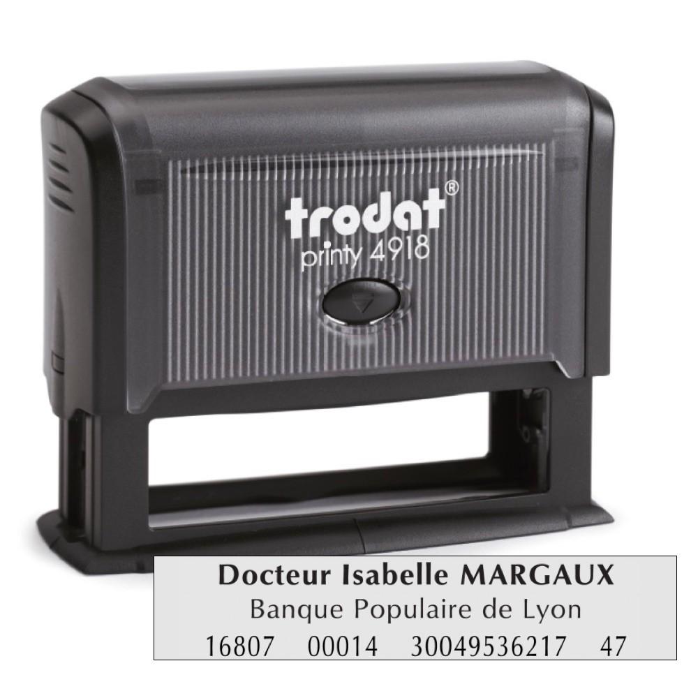 Tampon printy trodat 4916 spécial domiciliation