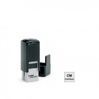 Tampon printy 4921 - 1 à 2 lignes - 10x10mm - Port gratuit