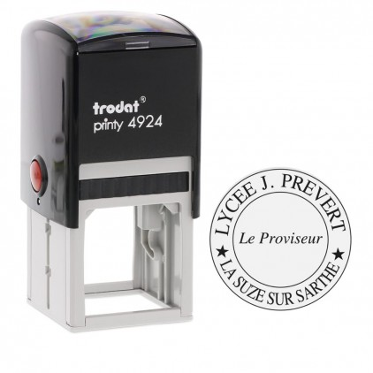 Tampon printy 4940 rond - 39 mm - Port gratuit