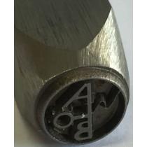 Poinçons à personnaliser pour métal, bijoux, couteaux ou bois