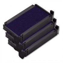 Cassette d'encrage pour tampons automatiques pack de 3